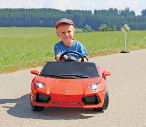 Bilde av Ride-on Lamborghini Aventador. Orange